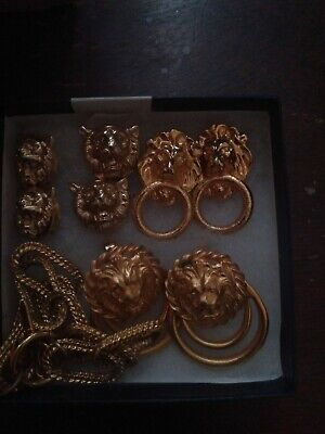 Anne Klein Lion Jewelry Set