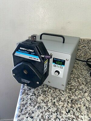 Cole-parmer Masterflex Ip 77410-10 Peristaltic W Easy Load 77601-60 Pump Head