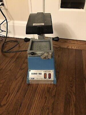 Buffalo Dental Econo-vac Vacuum Former Lab Vac Forming Machine - 120v