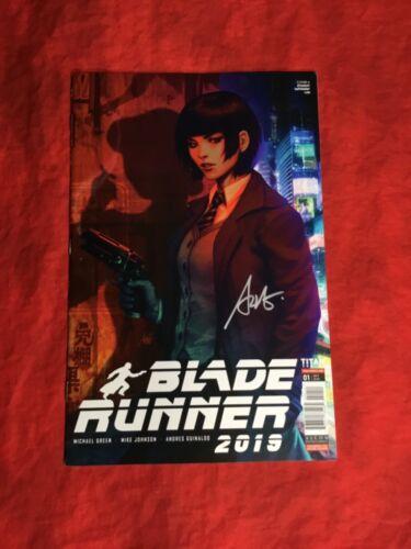 BLADE RUNNER 2019 #1~TITAN COMICS~SIGNED BY STANLEY ARTGERM LAU~NM