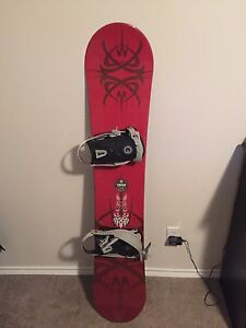 Snowboard and other Gear