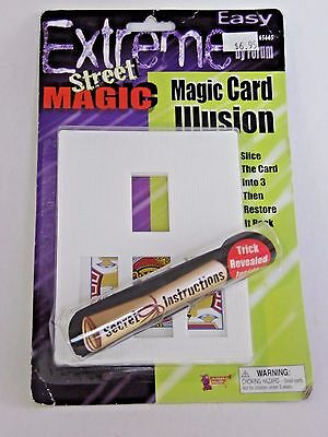 Masked Magician Halloween Costume (Magician's Magic Card Illusion Theatrical Costume Halloween Party Accessory)