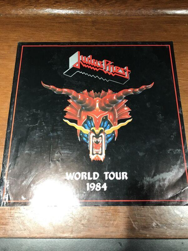 Judas Priest Defenders of the Faith World Tour 1984 Program Book