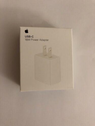 Apple Original 18W USB-C Fast Charging Power Adapter iPhone 11/12 mini Pro Max