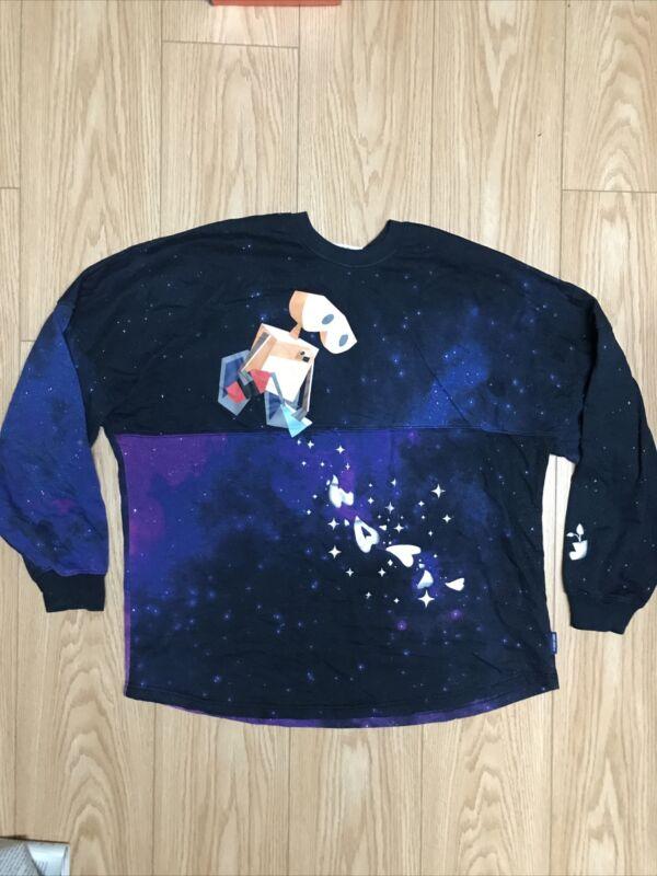 Disney Store  Pixar Wall-E Galaxy Spirit Jersey-sweatshirt Xl Large