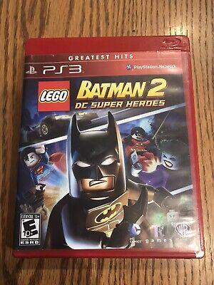 LEGO Batman 2: DC Super Heroes (Sony PlayStation 3, 2012) PS3