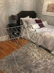 Wire clothing dryer