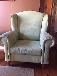 Wingback Armchair Berkeley Vale Wyong Area Preview