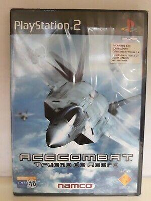 Ace Combat Trueno de Acero PS2 NEW