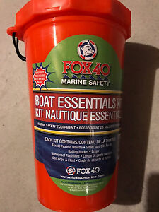 Fox 40 brand new boat and canoe safety kit