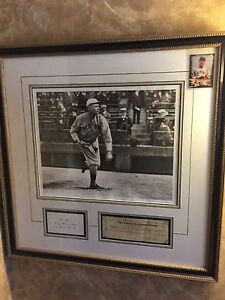 ***MUST SELL*** Babe Ruth Signed Cheque with coa