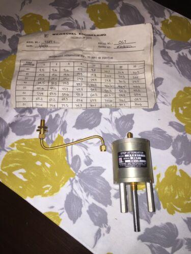 New Weinschel Eng. Step Attenuator model 9589-1