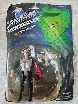 KENNER 1986 ULTRASONIC SUIT QUICKSILVER NEW SEALED ULTRA RARE