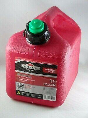 5 Briggs Stratton Smart-fill 1 Gallon Gas Cans