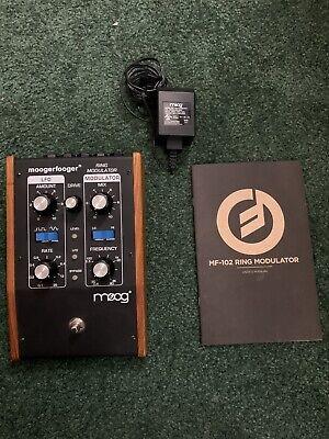 moog moogerfooger mf-102 ring modulator used/mint