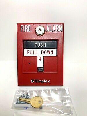 Simplex 4099-9002 Addressable Manual Pull Station