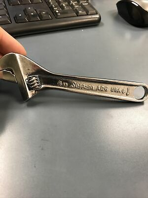 Snap On Tools Adjustable Wrench OLD STOCK AD6