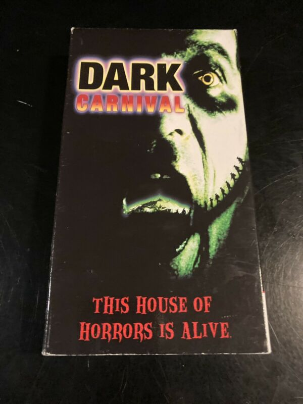 Dark Carnival VHS Horror Rare Cult GoreYork Video Vintage Halloween Slasher