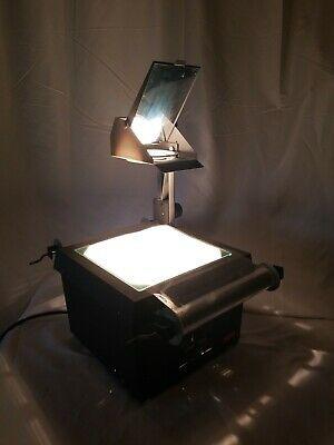 EIKI Overhead Projector 3880 A, w/ Partial Film Roll