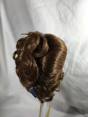 doll wig by Kemper size 12-13 light red, Martha (22)