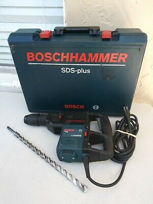 Bosch 11222evs Plus Heavy Duty Electric Corded Sds Hammer Drill With Case 1 Bit