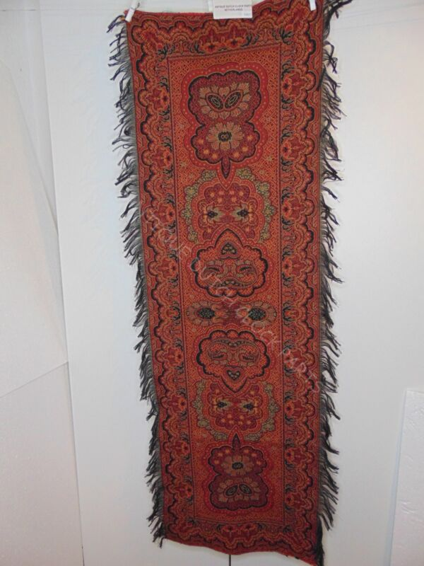 "FOLKLORE DUTCH ""WORTELDOEK"" PAISLEY RUNNER"