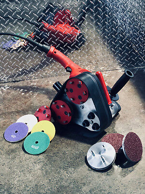 Concrete Grinder And Polisher Attachment
