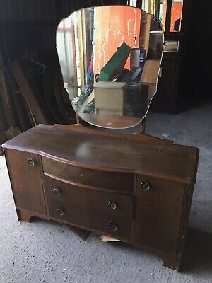 Vintage Old Retro Dressing Table  Paint Project    18/5/F/LB