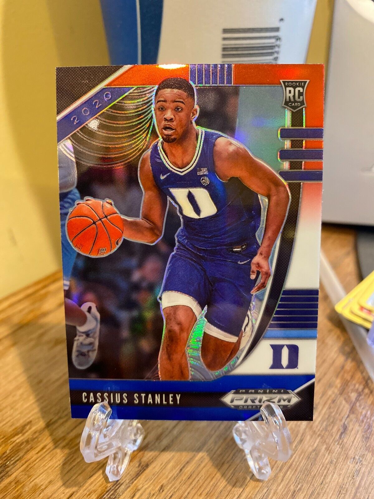 Certification Number 68 - Cassius Stanley (Red White Blue Prizm)