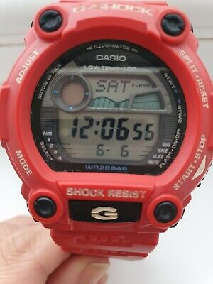 Red Cassio G-shock Vintage Classic Watch