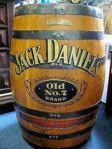 JACK DANIELS BARREL FULL SIZE NUMBERED GRAPHICS Geilston Bay Clarence Area Preview