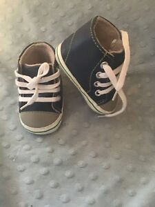 Little me lace up sneakers. Size 1
