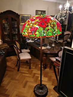 Table lamps x 2 tiffany style leadlight table desk lamps table lamps x 2 tiffany style leadlight table desk lamps gumtree australia west torrens area marleston 1190411723 mozeypictures Gallery