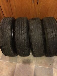4 Bridgestone Summer Tires