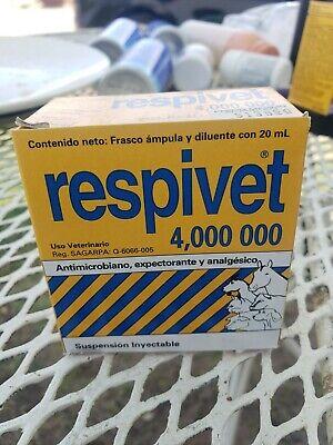Respivet 20ml Injectable Bueno Para Los Catarros