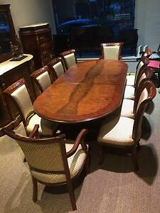 oval extension dining table 3700 00 very heavy table wide 120cm high