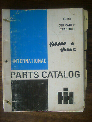 Ih Farmall International Cub Cadet Serial Number 400000 And Above Parts Manual