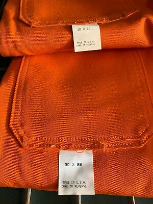 Three (3) Westex Steel Grip Pants Size 30W x 28L Flame Resistant Welding, NOS ()
