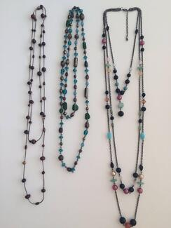 Ladies Fashion Necklaces (Bundle of 3, Diva & Lovisa) Neutral Bay North Sydney Area Preview