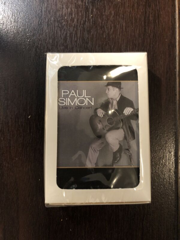 Paul Simon - Deck Of Playing Cards - Live In Concert VIP