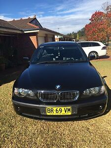 2005 BLACK BMW 318i VERY LOW KMS Bligh Park Hawkesbury Area Preview