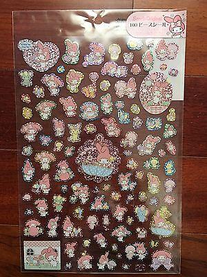 Sanrio My Melody Glittery Sticker