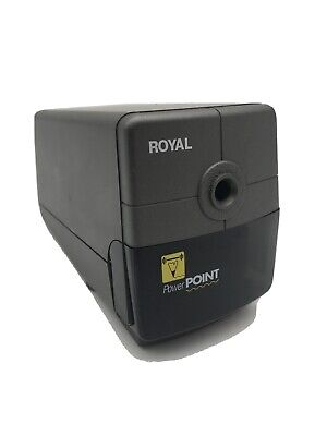 Royal Power Point Electric Pencil Sharpener With Auto Stop 9709-dr