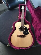 "Maton EGB808CL ""Performer"" acoustic electric guitar Berwick Casey Area Preview"