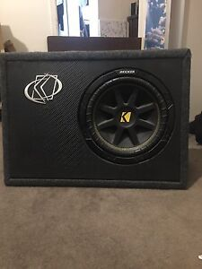 "Kicker 10"" 300W Subwoofer Tea Tree Gully Tea Tree Gully Area Preview"