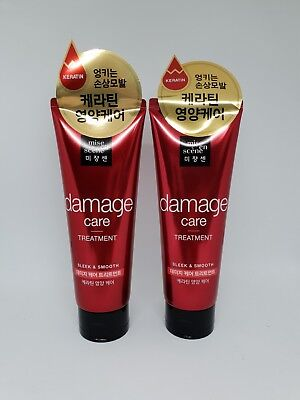 2Pcs Mise En Scene Damage Care Treatment 180mL Hair Care K Beauty