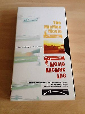 The Mic Mac Movie - Skateboard video - VHS - PAL - Finland