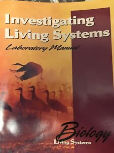 Biology Investigating Living Systems Lab Manual