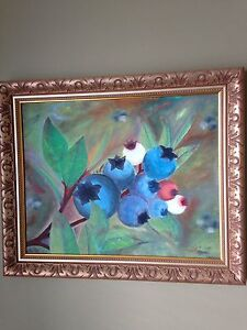 Framed oil painting originals by TILLEY