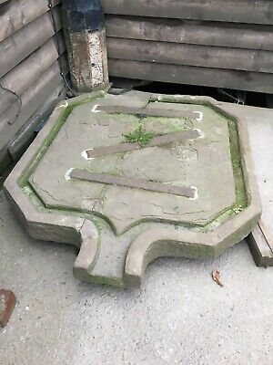 Antique Cider Press Drip Stone Garden Water Feature